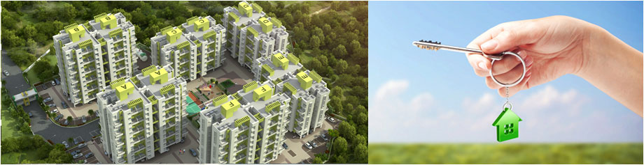 Elevation of flats / apartments near Hinjewadi at Kasar Amboli
